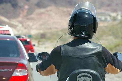Helmet & 'Lane Split' Laws Could Reduce Motorcycle Accident Deaths & Injuries 1