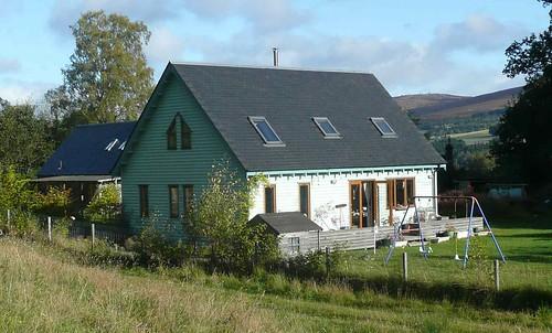 Eco House At Kirk Park Scotland Selfbuild Central