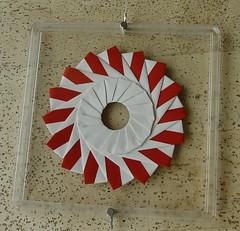 Ring 24 B  von Tomoko Fuse - Vorderseite (Tagfalter) Tags: origami ring tomokofuse