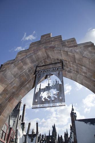 Harry Potter Park Entrance