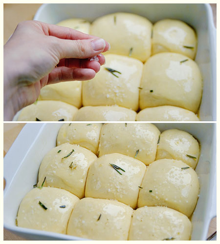 Garlic and Rosemary Butter Rolls