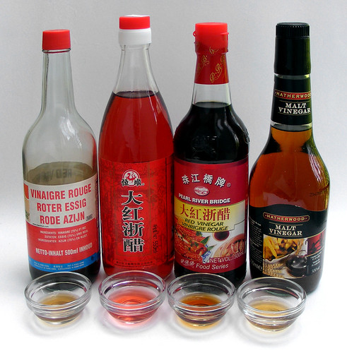 Comparing Red Rice Vinegars