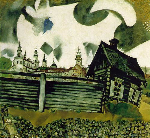 chagall_grey_house
