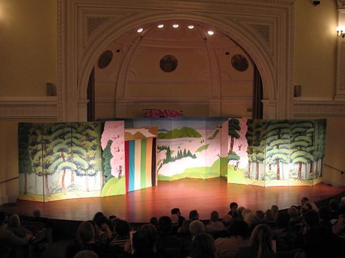 Fullerton Hall, Kabuki set