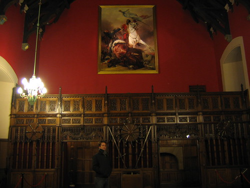 In the Great Hall, Edinburgh Castle