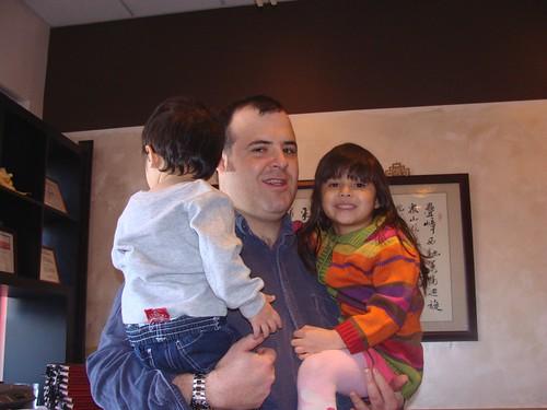 Papa, Mina and Benji