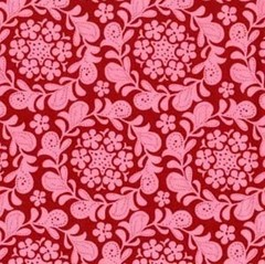 Red fat quarter