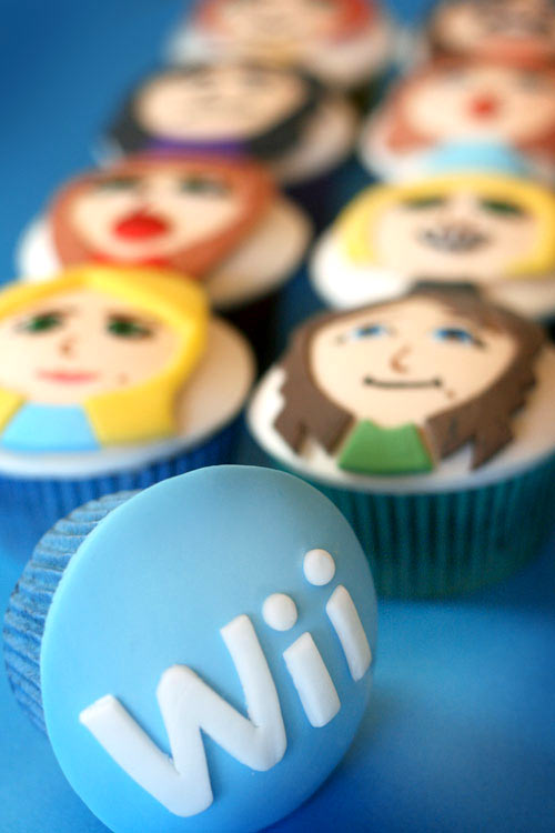 Wii Cupcake