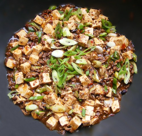 Fuchsia Dunlop's MaPo Tofu with fermented black beans