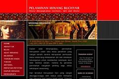 Web Design Pelaminan Minang