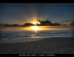 Mollymook Beach Sunrise (Sam Ili) Tags: light sea sky sun color beach water clouds sunrise canon australia nsw hdr ulladulla mollymook shoalhaven photomatix freephotos 450d abigfave redbubble anawesomeshot vipveryimportantphotos canon1022mm3545