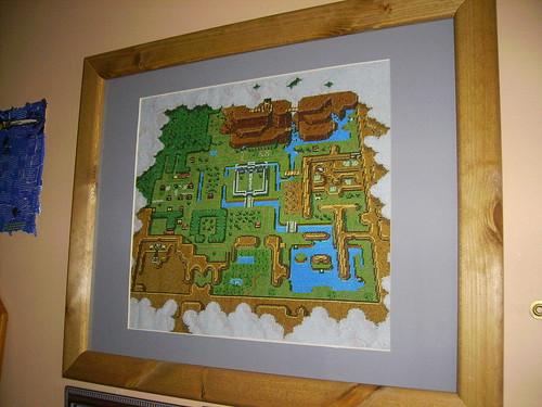 World Map Zelda