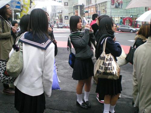 日本高中女生