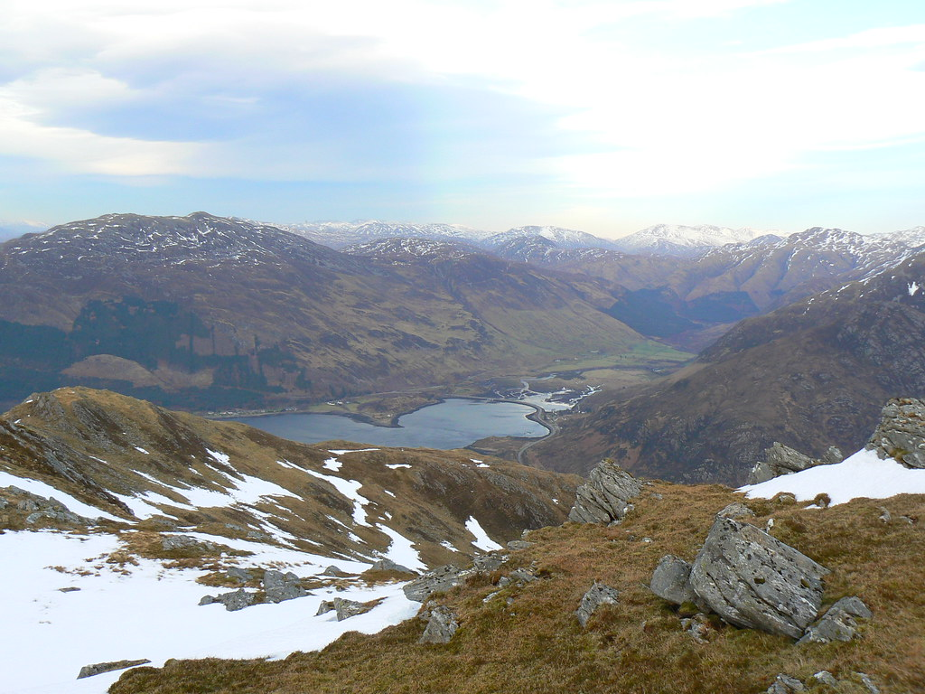 Head of Loch Duich and Morvich