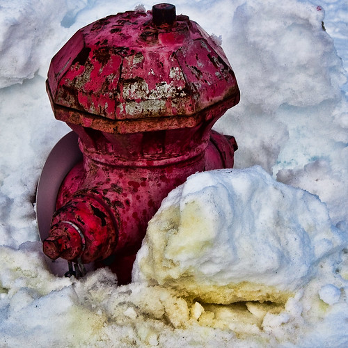 Firehydrant... and yellow snow
