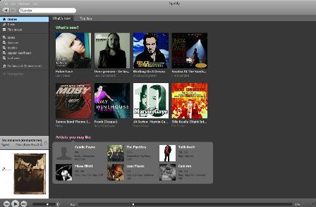 Spotify desktop app