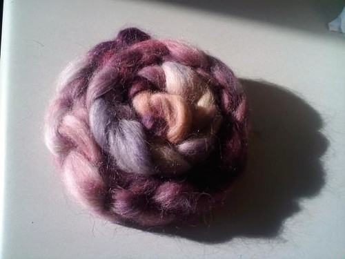 Braided Kettle Dyed Finn Roving