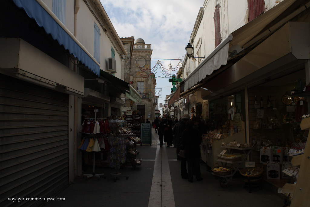 Pequena rua da aldeia
