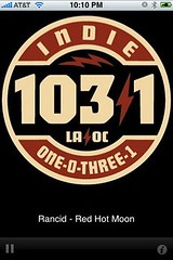 indie 103.1 iphone app