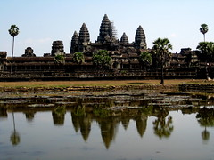 Angkor Wat over the pond