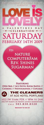portland oregon valentine's day 2009