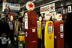 Retromobile 2009 - Paris - France (Alain ) Tags: car automobile expo garage shell mobil exposition salon essence castrol bp texaco caltex wagen retromobile pompe pompeaessence mobilgaz