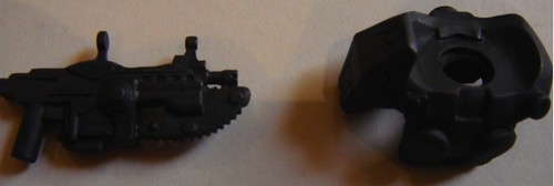 Hazel's custom minifig parts arrive