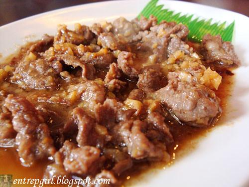 Suzukin beef garlic