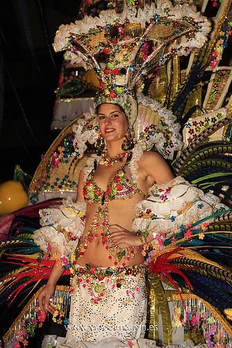 Primera Dama de Honor Carnaval de Santa Cruz de Tenerife 2009