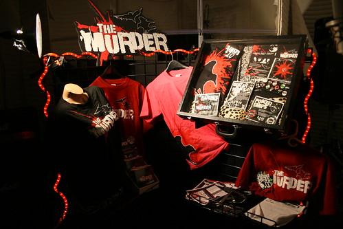 The Murder - Merch Display