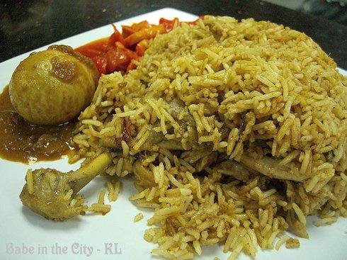 Syed's Nasi Ayam Briyani Bukhara RM10.00