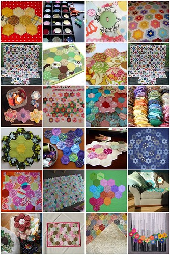 Intermittent Inspiration: Handpieced Hexagons