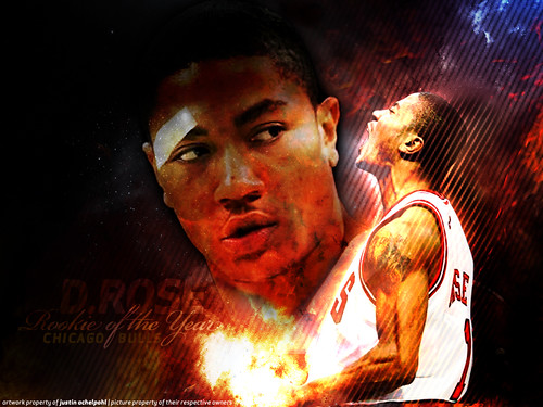 derrick rose wallpaper. Derrick Rose Wallpaper: Rose