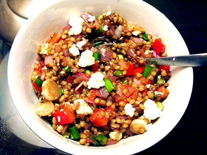 the barefoot contessa's wheat berry salad - amateur gourmet