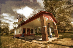 ESSO Station 5 (*Kid*Doc*One*) Tags: old station postcard gas nostalgia filling fashioned ghostbones