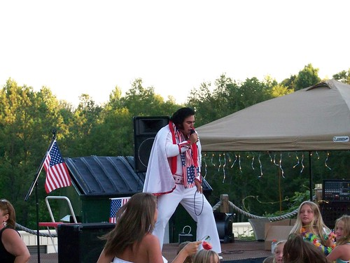 Elvis at Jim's Bait Shop, Lake Martin
