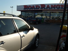 The Subaru, somewhere in Iowa (elido1) Tags: west july 2009 headed