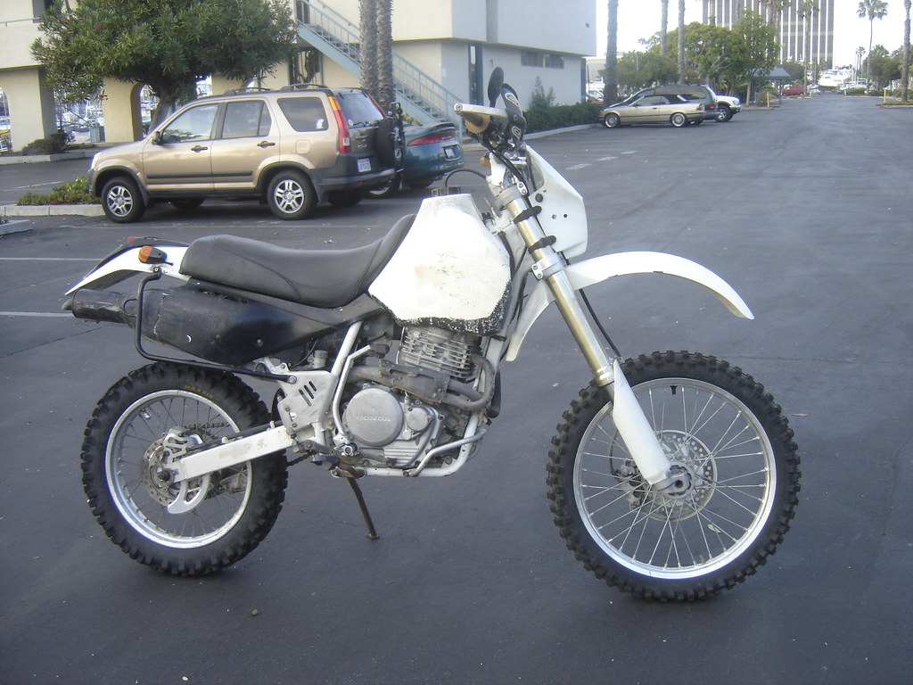 Honda XR600R with CRF Front End