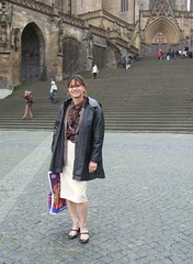 Domplatz1 (Marie-Christine.TV) Tags: woman beautiful rock lady tv feminine skirt tgirl business suit transvestite secretary elegant feminin businesswoman mariechristine skirtsuit womans