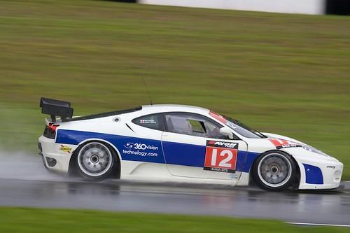 British GT, Donington Park 2009: VRS Equipment Finance Ferrari 430