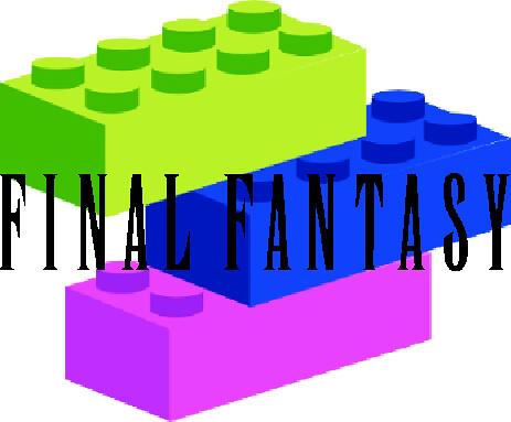 lego logo in lego. Final Fantasy Lego Logo