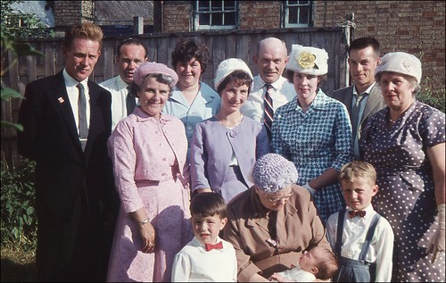 June 1961: my Christening day