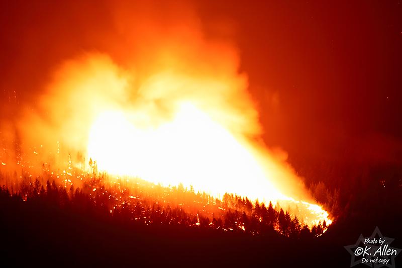 Aug 3 2009 Lillooet Fire