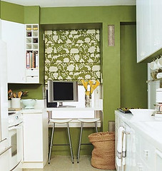 Domino green kitchen (decorology) Tags: wallpaper green notebook au entryway greenroom greenpaint dominomagazine modernretro greendecor earthpalettes