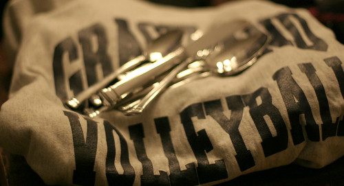 Sweatshirt and Silverware