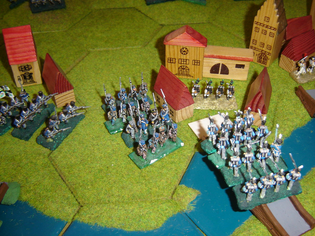 Prussian counterattack at Wavre