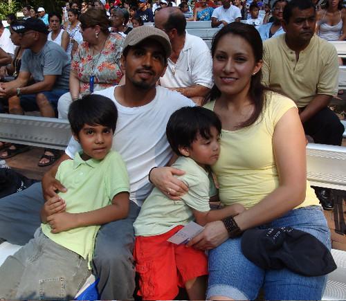 Mauricio's family