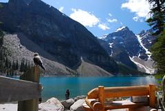 Moraine Lake, Alberta, Canada (Singularoutdoor) Tags: lake canada alberta banff rockymountains banffnationalpark morainelake