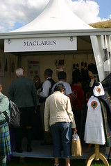 Clan MacLaren Tent at The Gathering 09