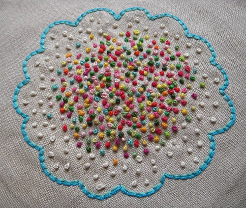 French knot frenzy